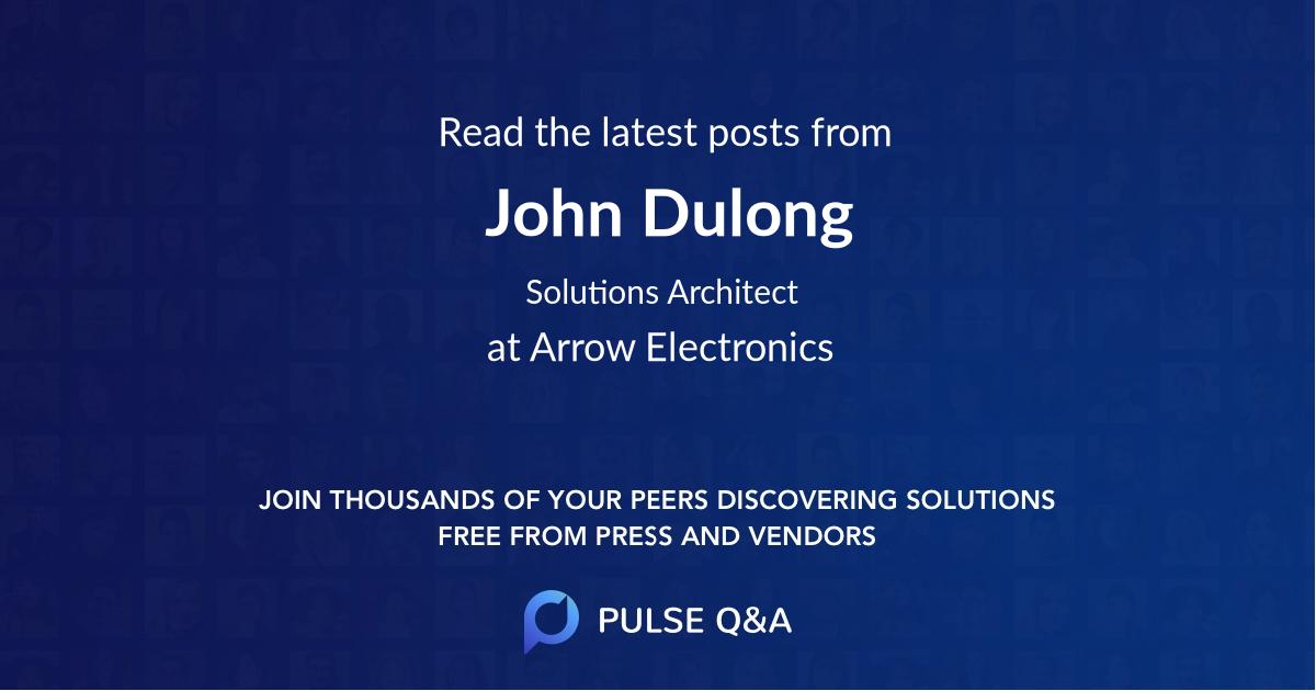 John Dulong
