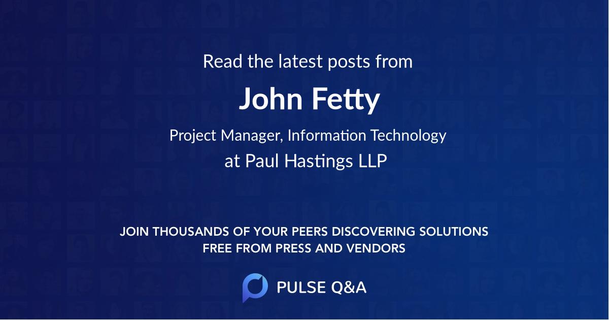 John Fetty