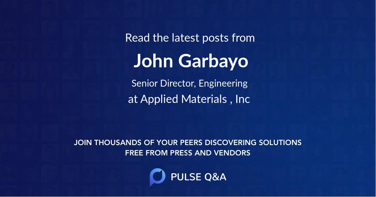 John Garbayo