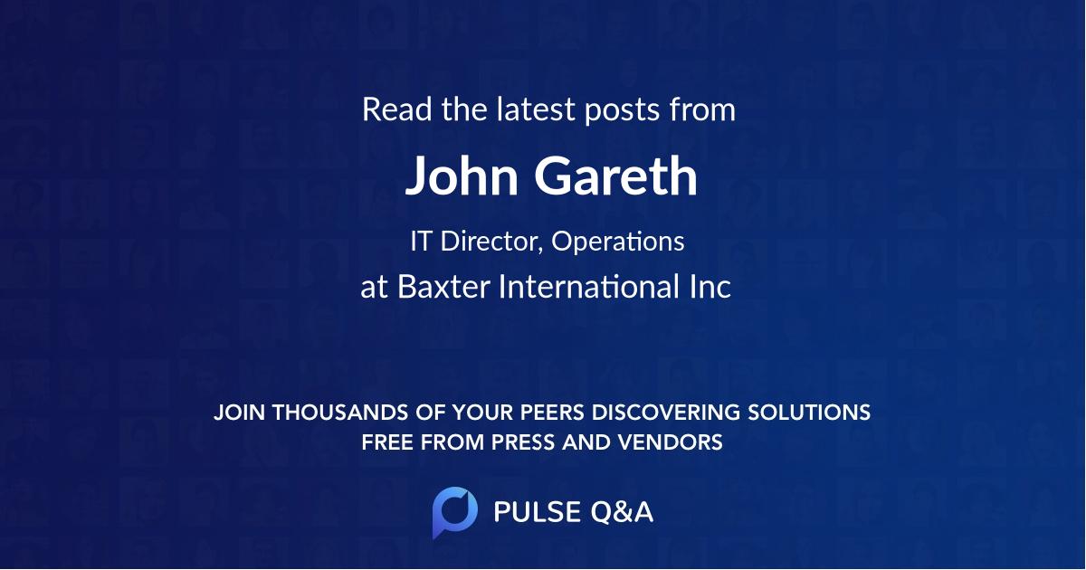 John Gareth
