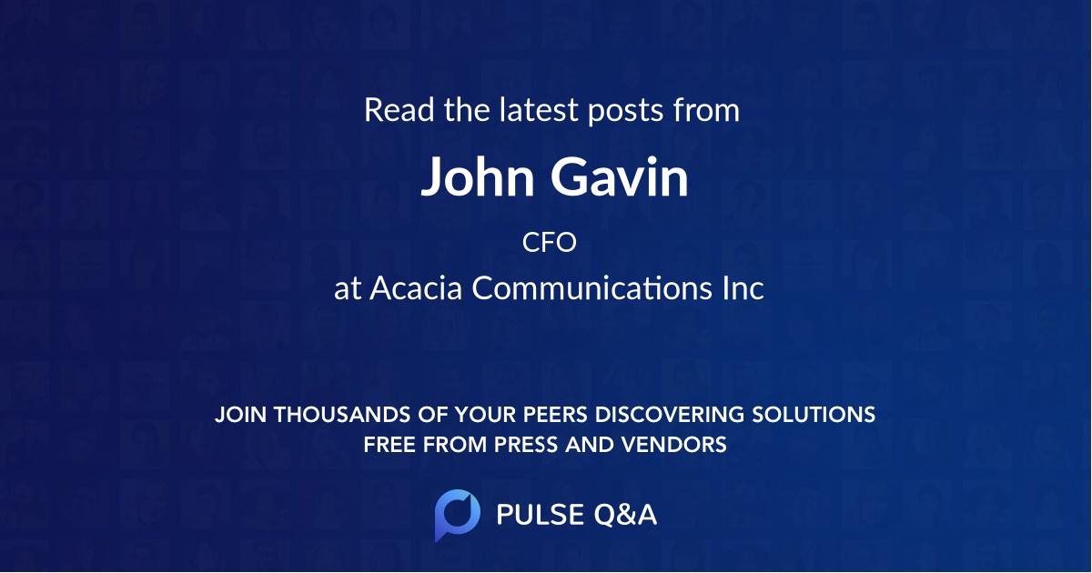 John Gavin
