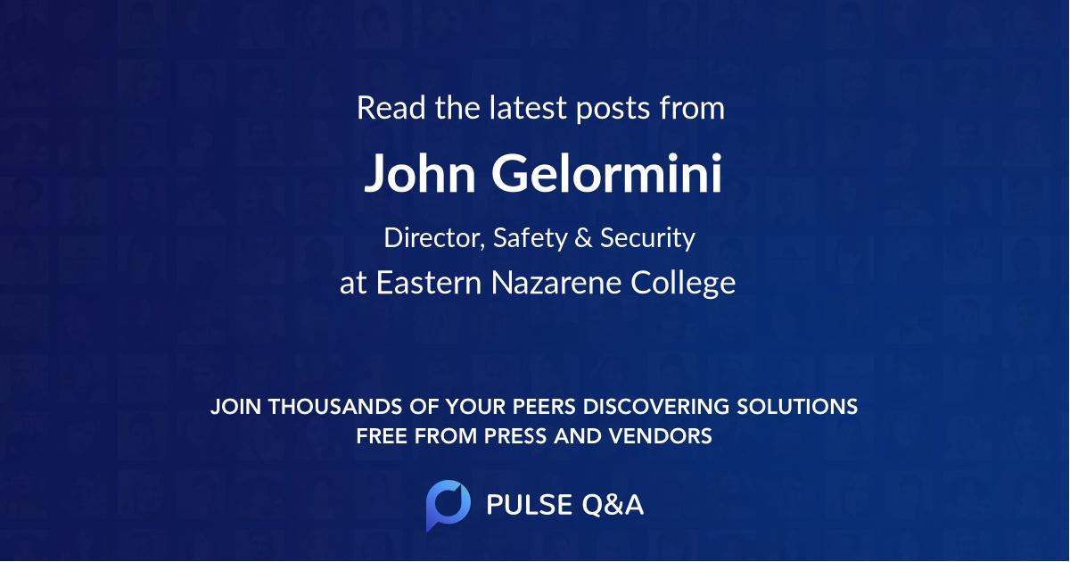 John Gelormini