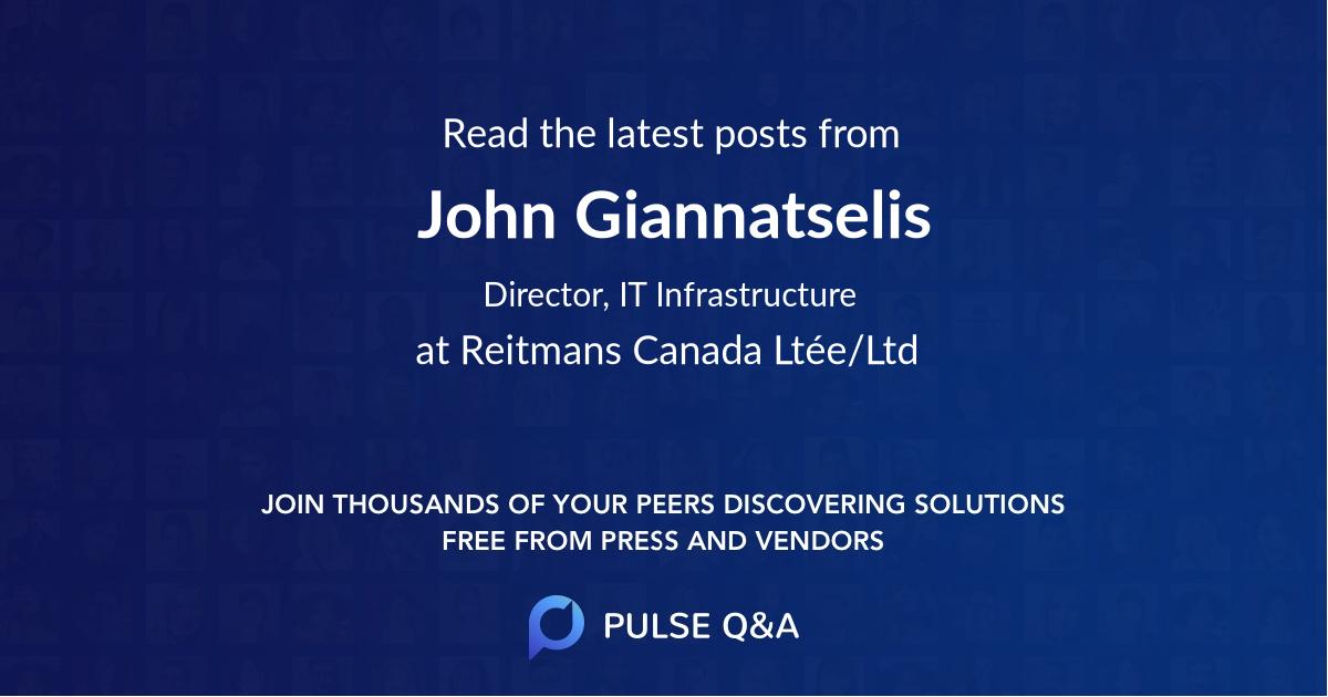 John Giannatselis