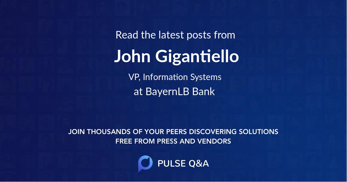 John Gigantiello