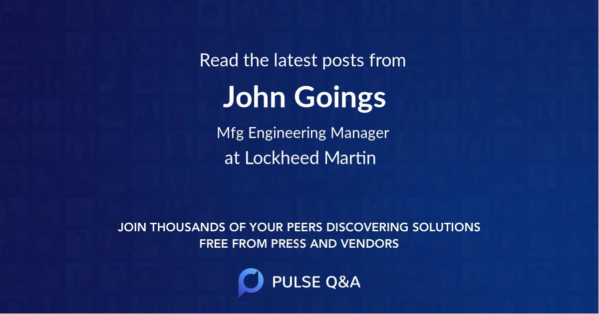 John Goings
