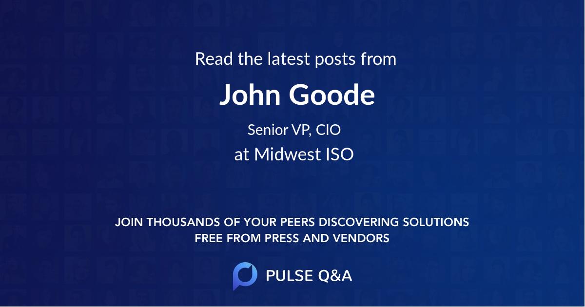 John Goode