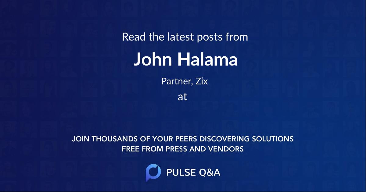 John Halama