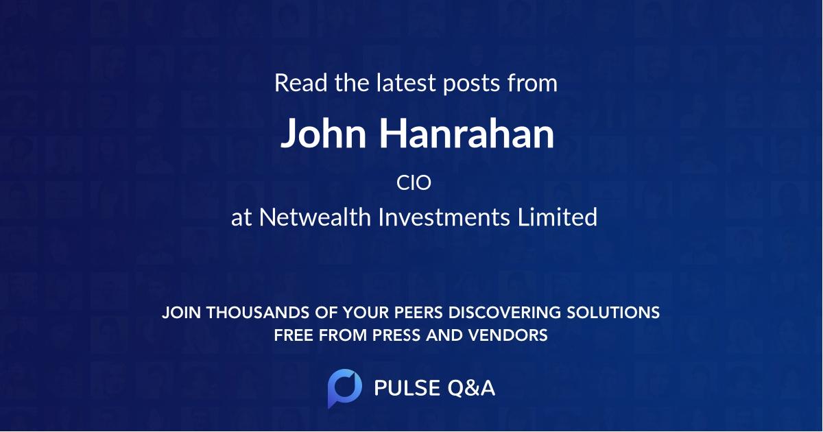 John Hanrahan