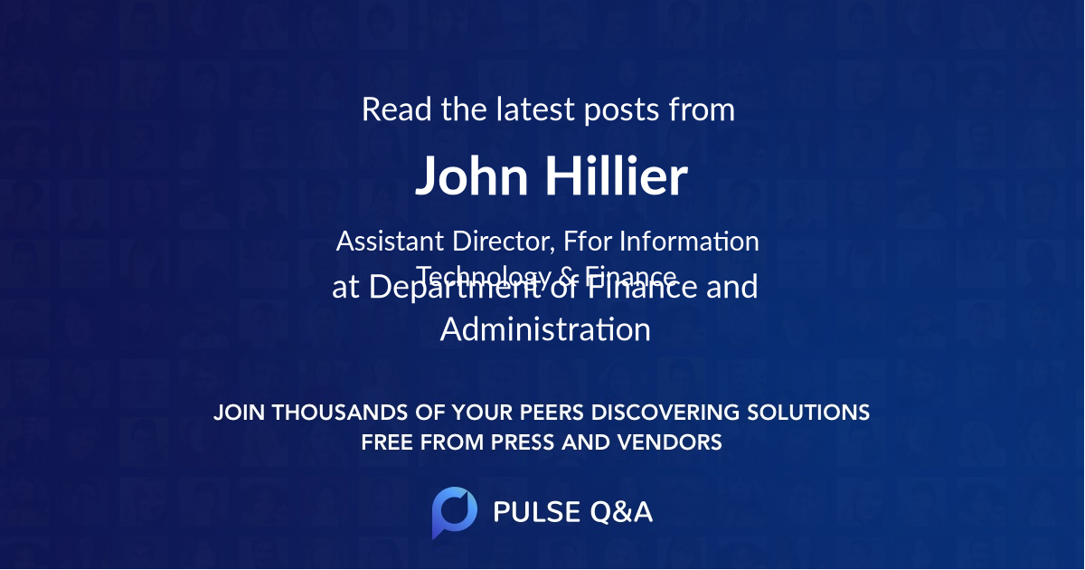 John Hillier