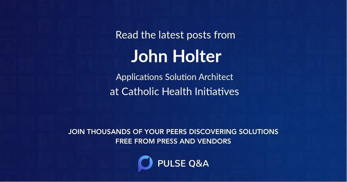 John Holter