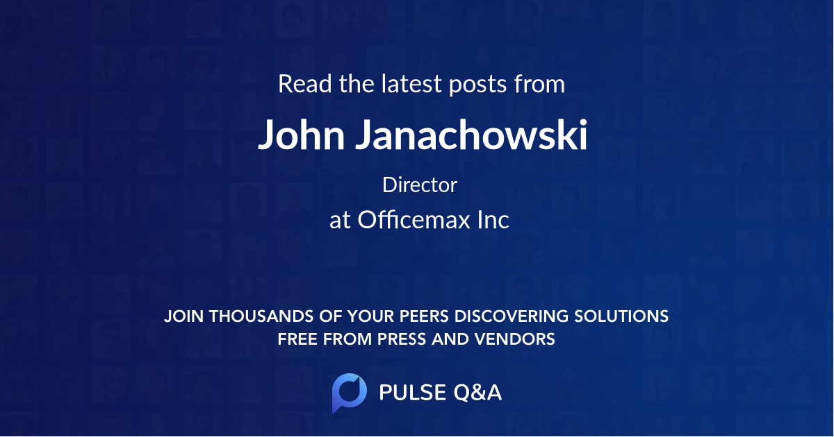 John Janachowski