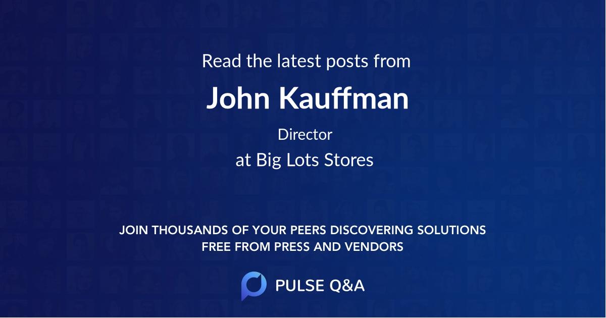 John Kauffman
