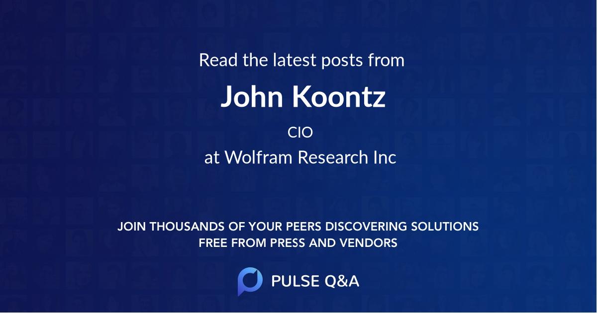 John Koontz