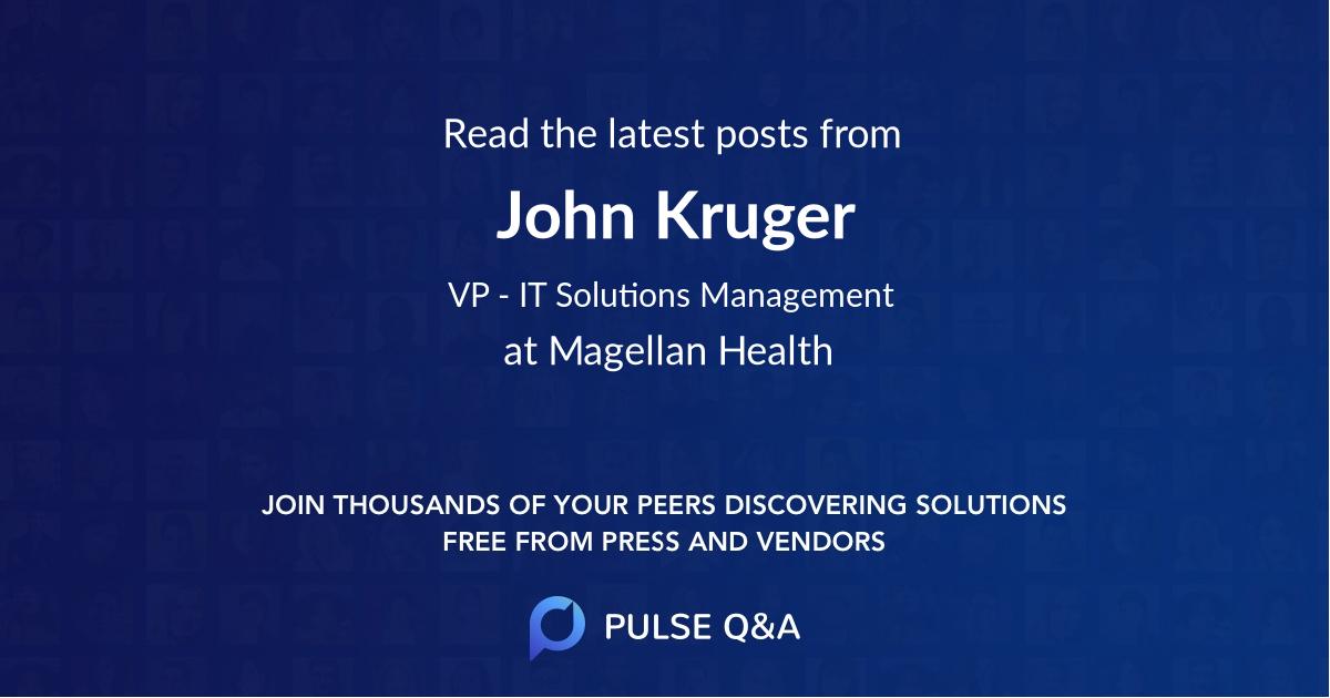John Kruger