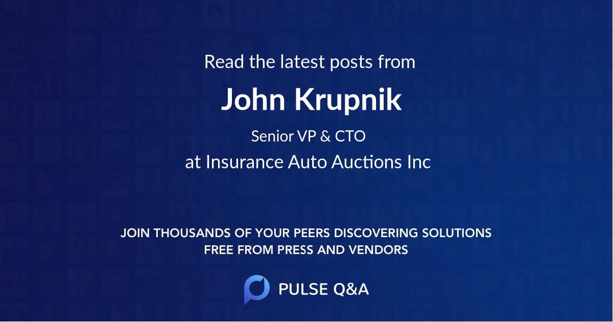 John Krupnik