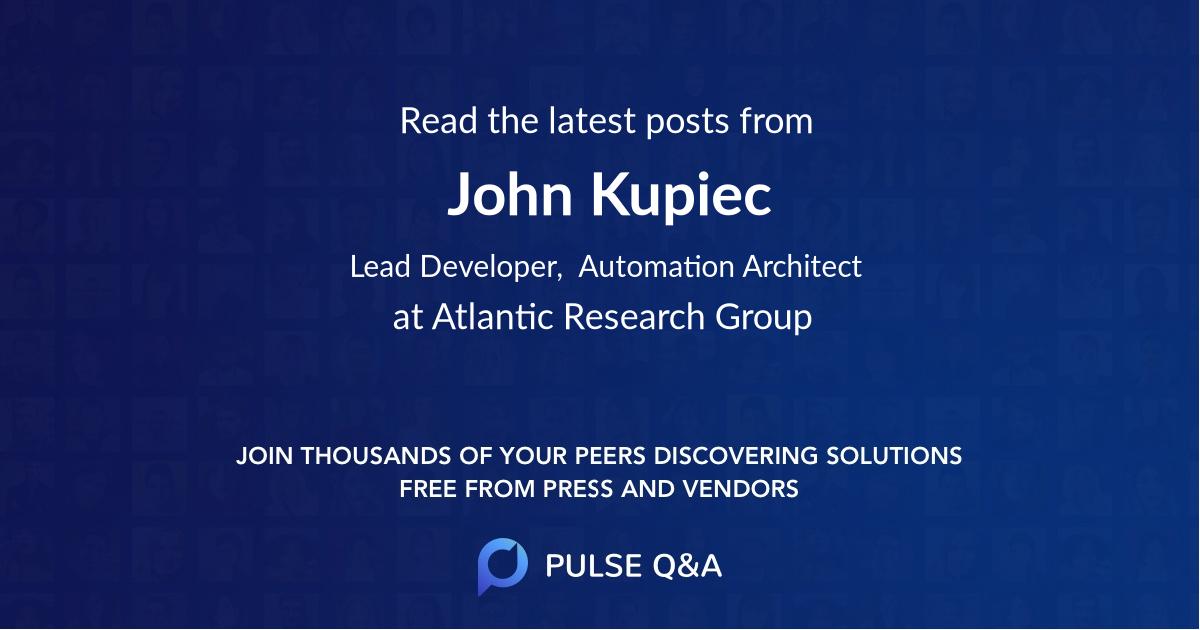John Kupiec