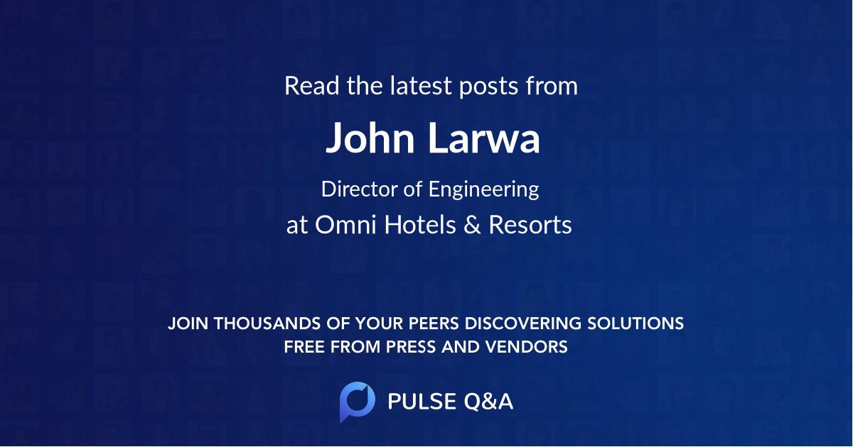 John Larwa