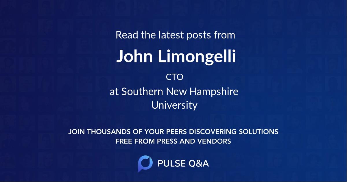 John Limongelli