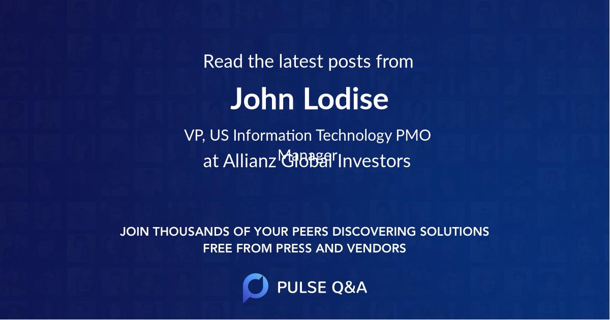 John Lodise