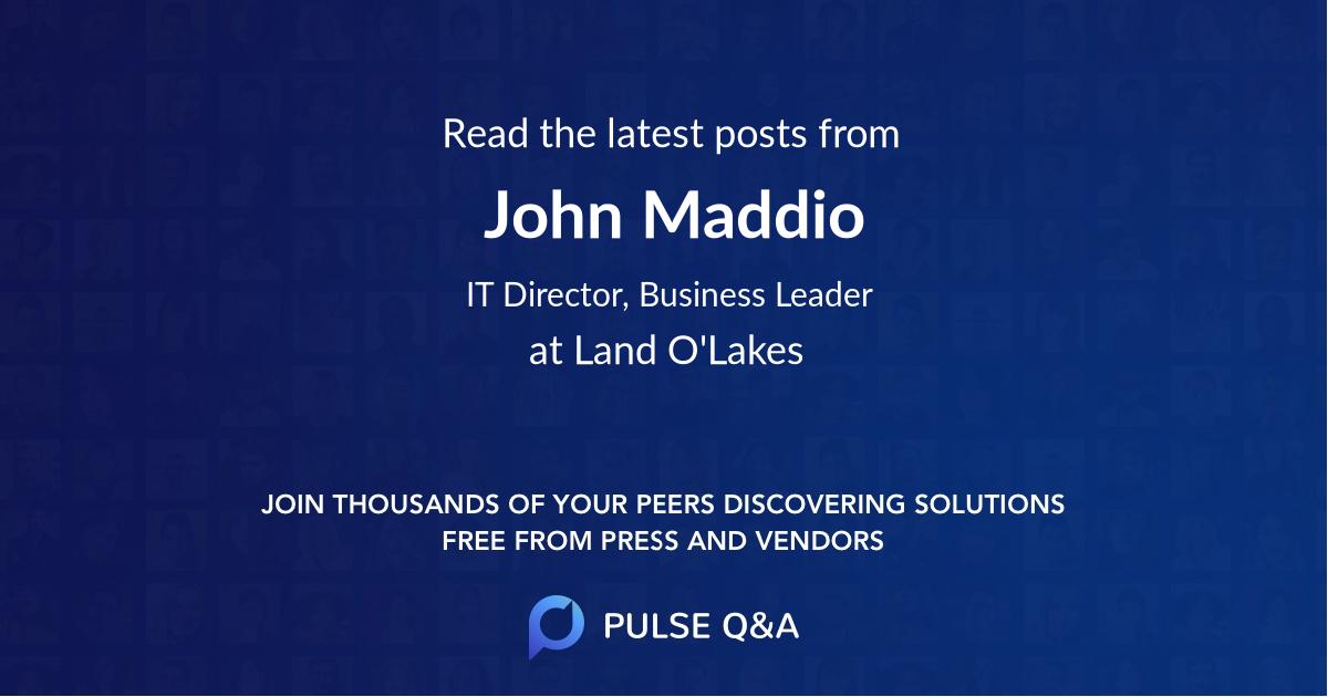 John Maddio