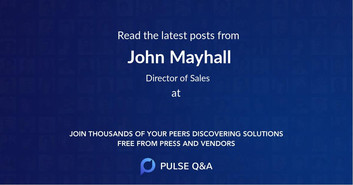 John Mayhall