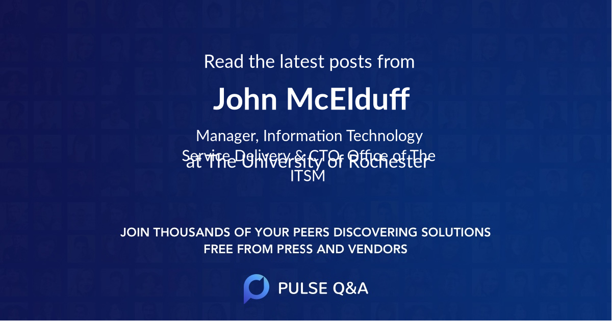 John McElduff