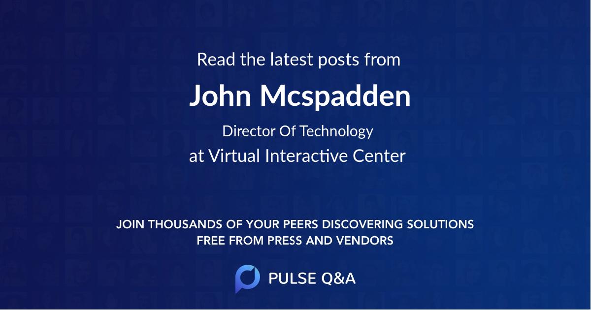 John Mcspadden