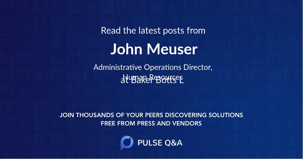 John Meuser