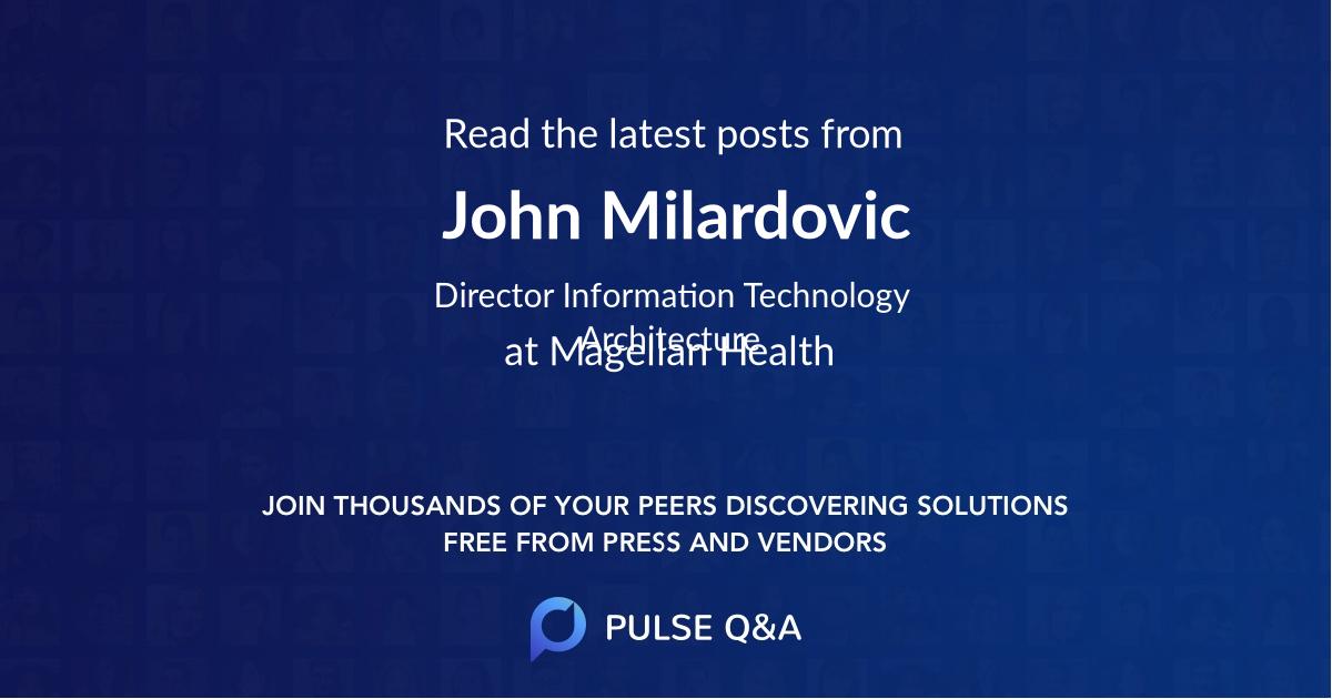 John Milardovic