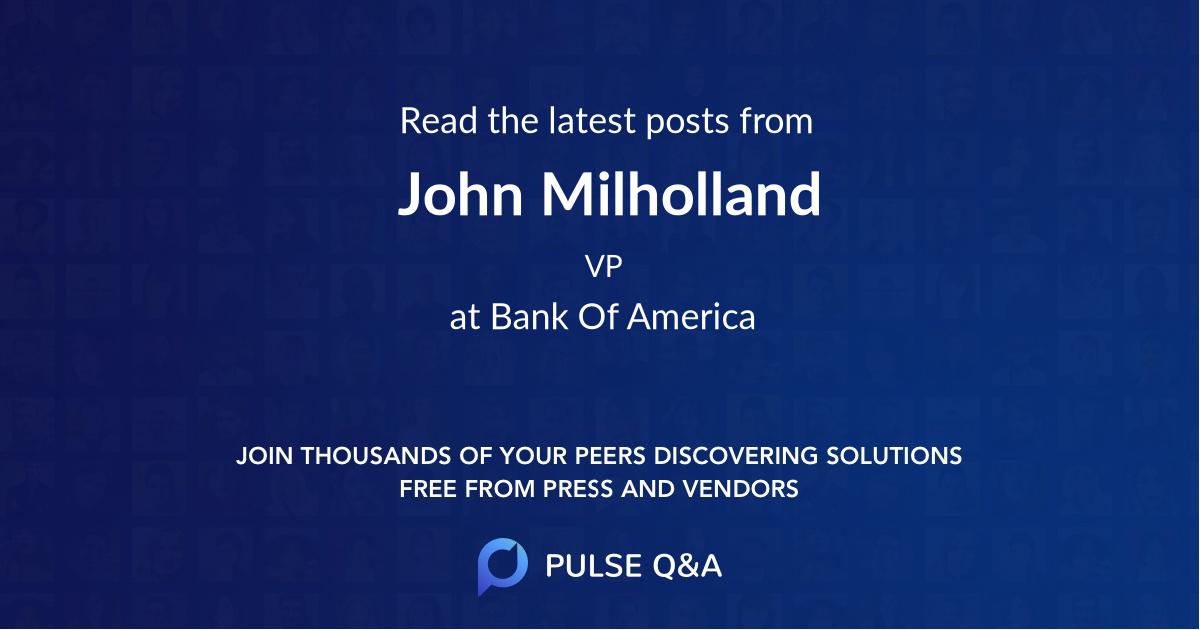 John Milholland