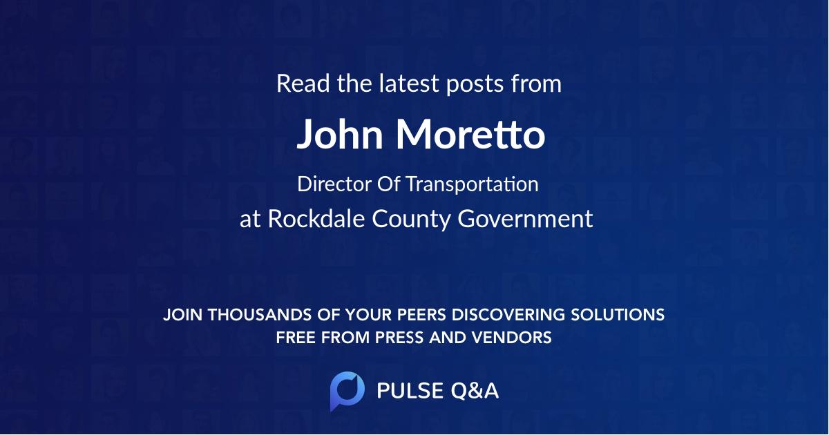 John Moretto