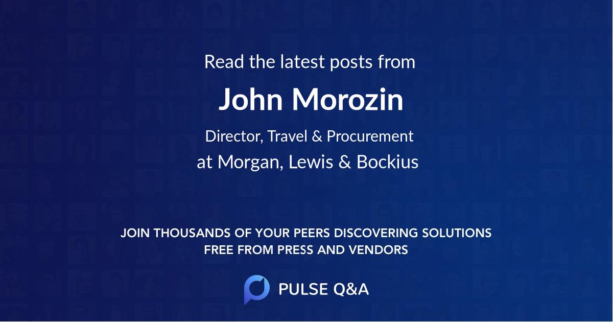 John Morozin