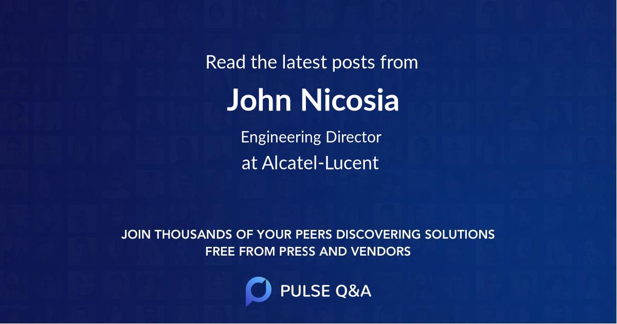 John Nicosia