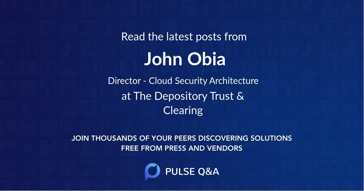 John Obia
