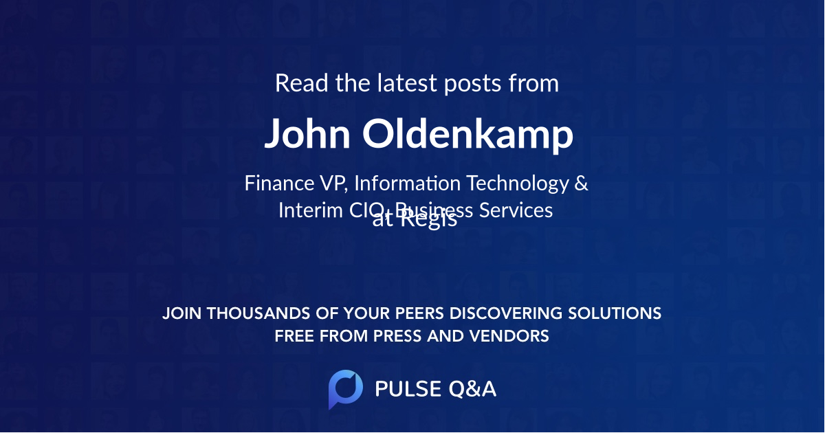 John Oldenkamp