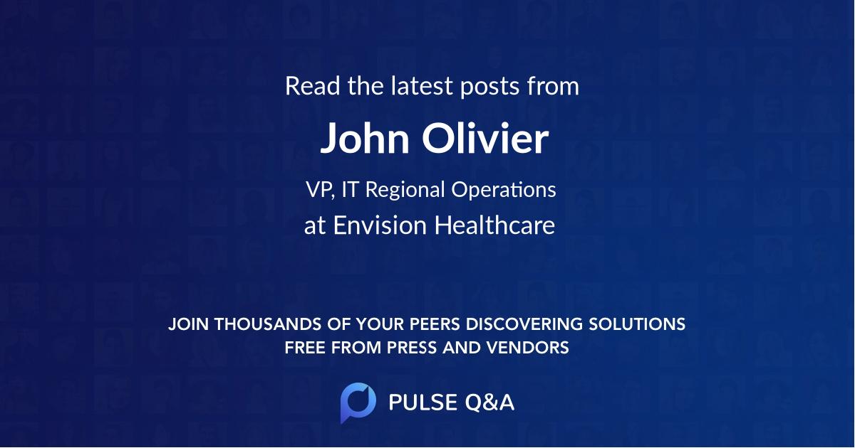 John Olivier