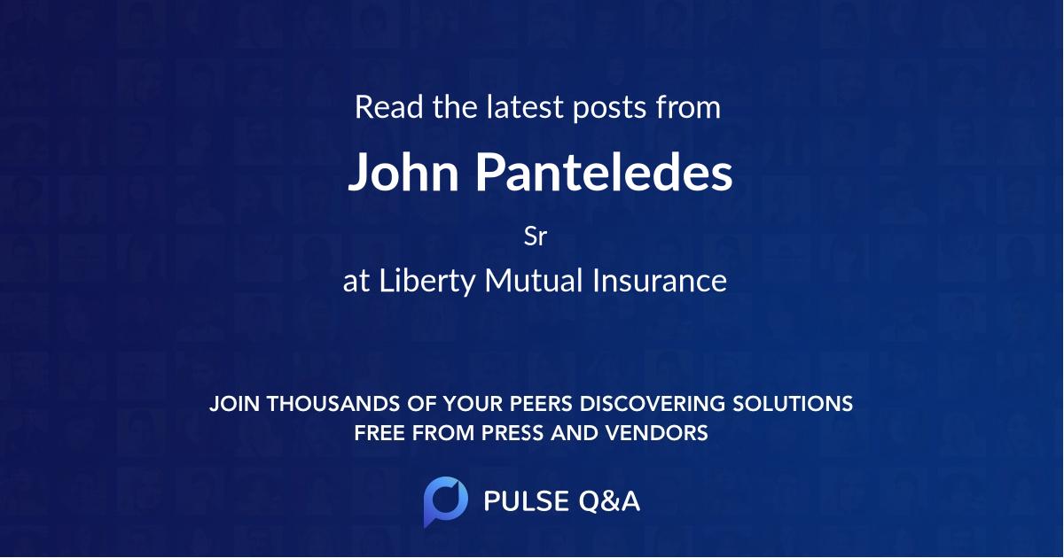 John Panteledes