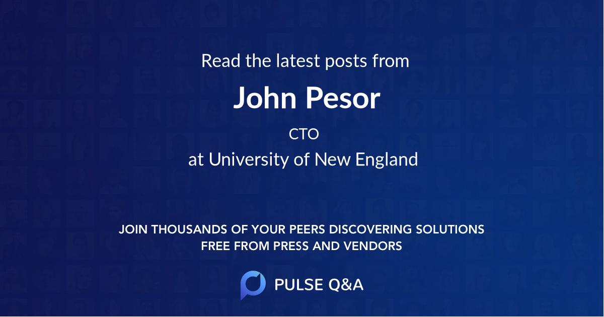John Pesor