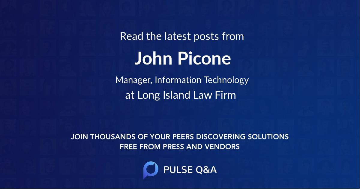 John Picone