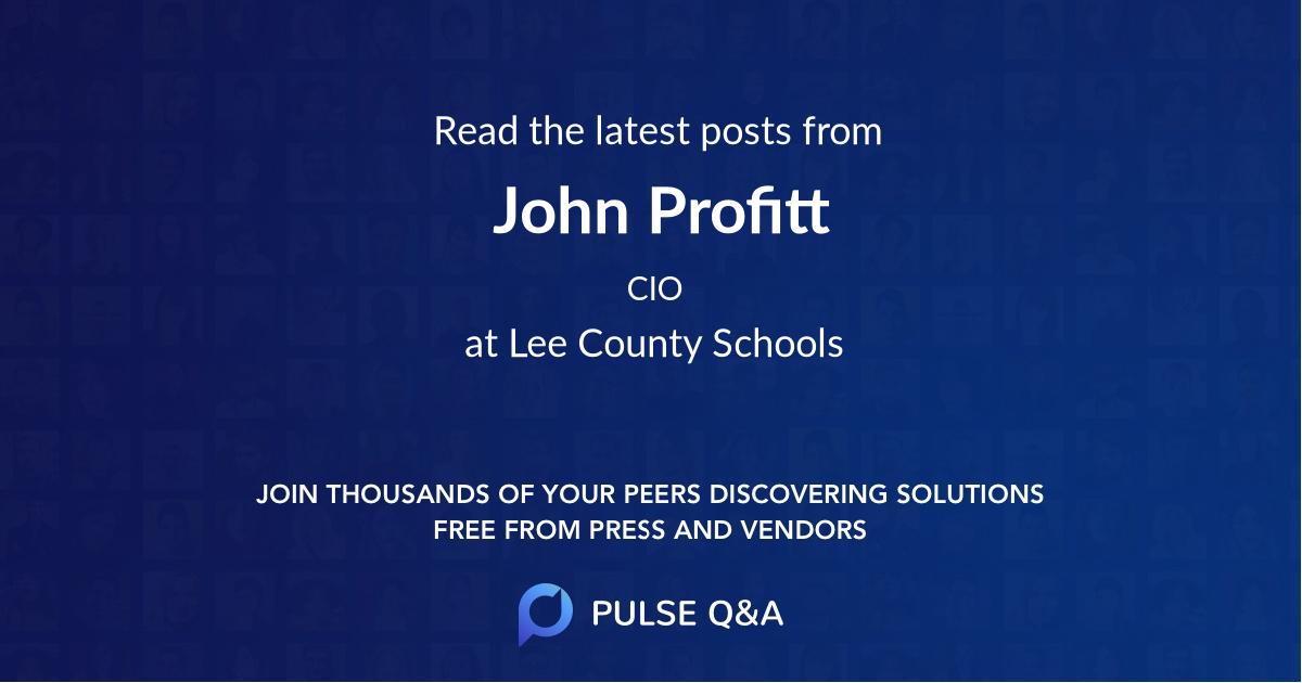 John Profitt