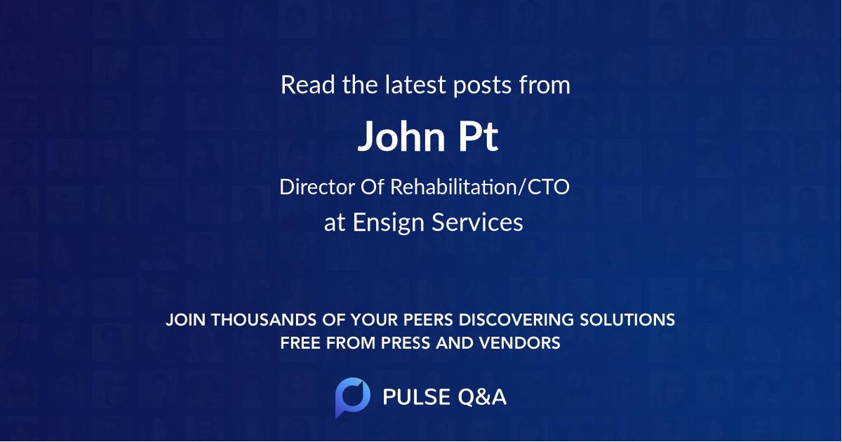 John Pt