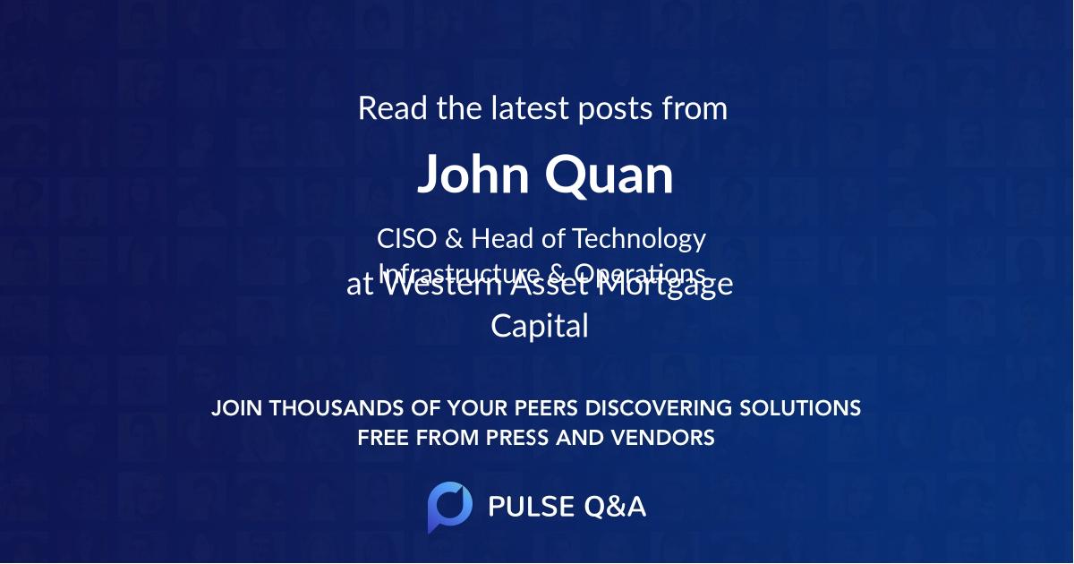 John Quan