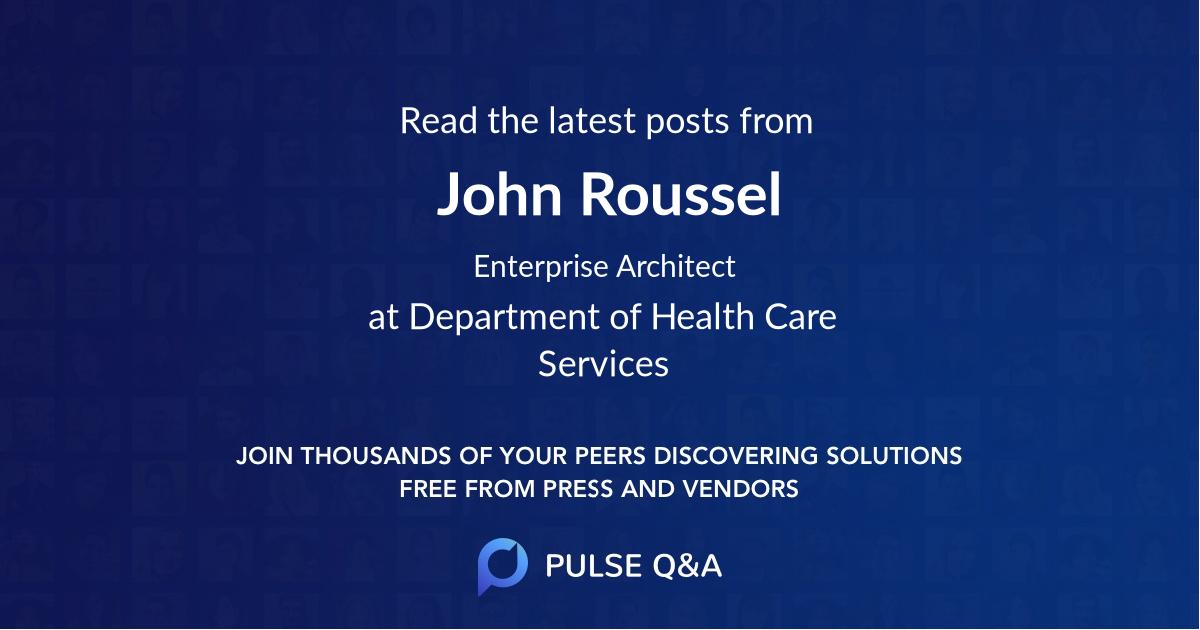 John Roussel