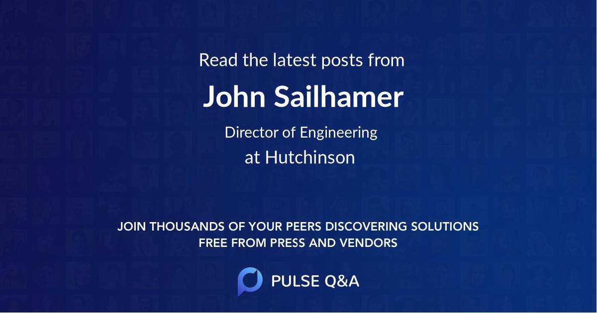 John Sailhamer
