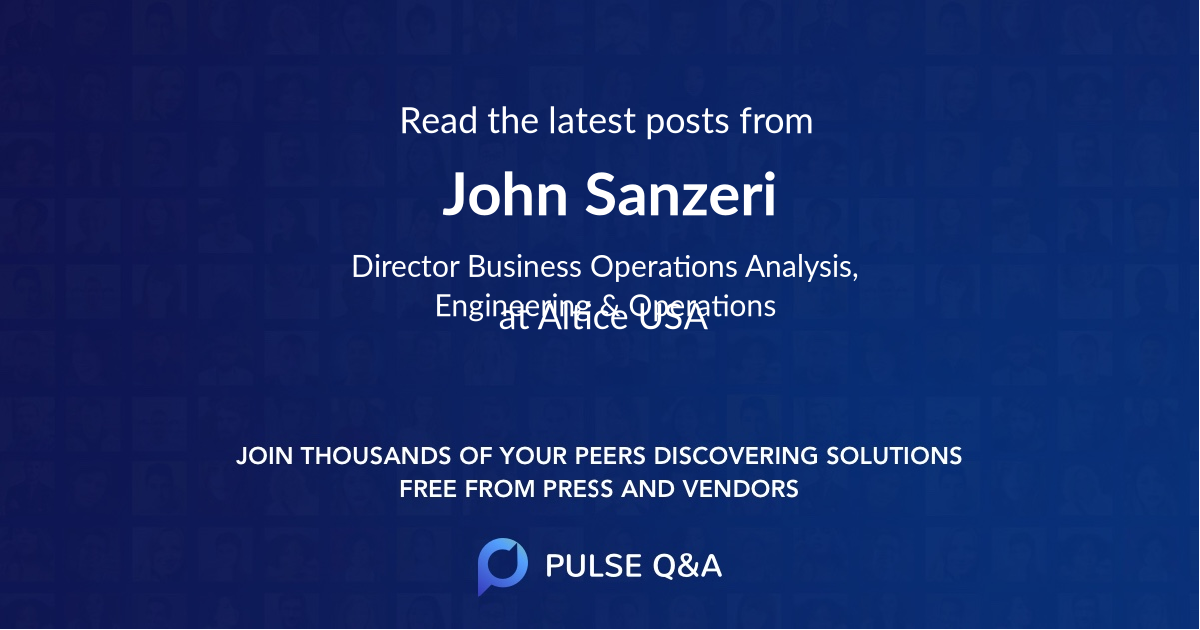 John Sanzeri