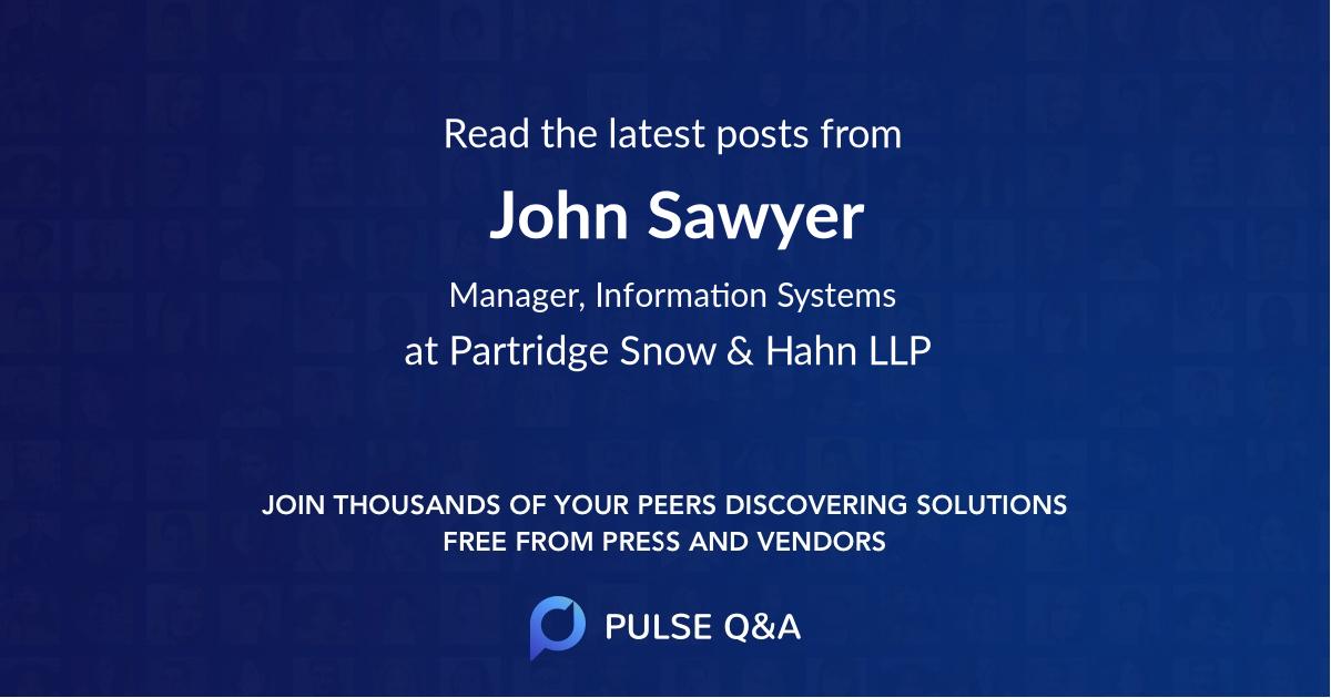 John Sawyer