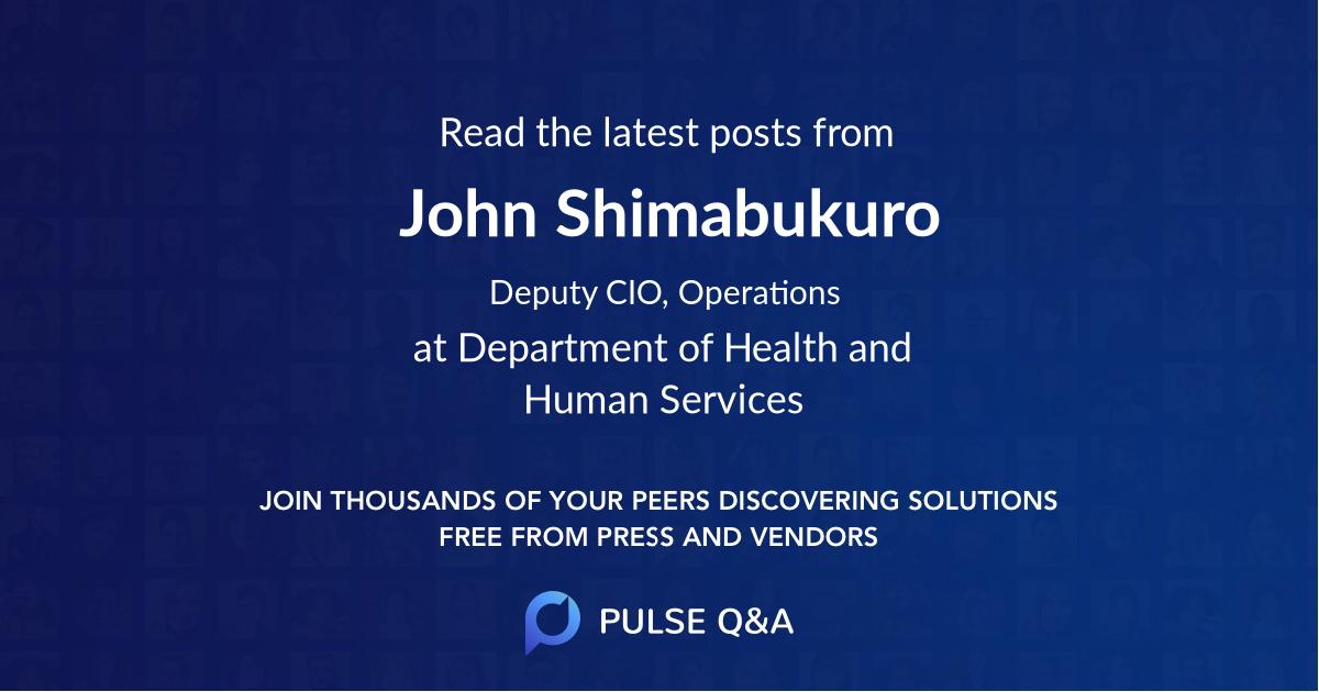 John Shimabukuro