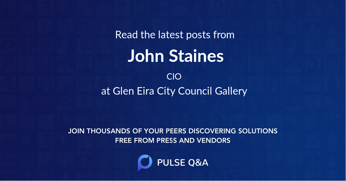 John Staines