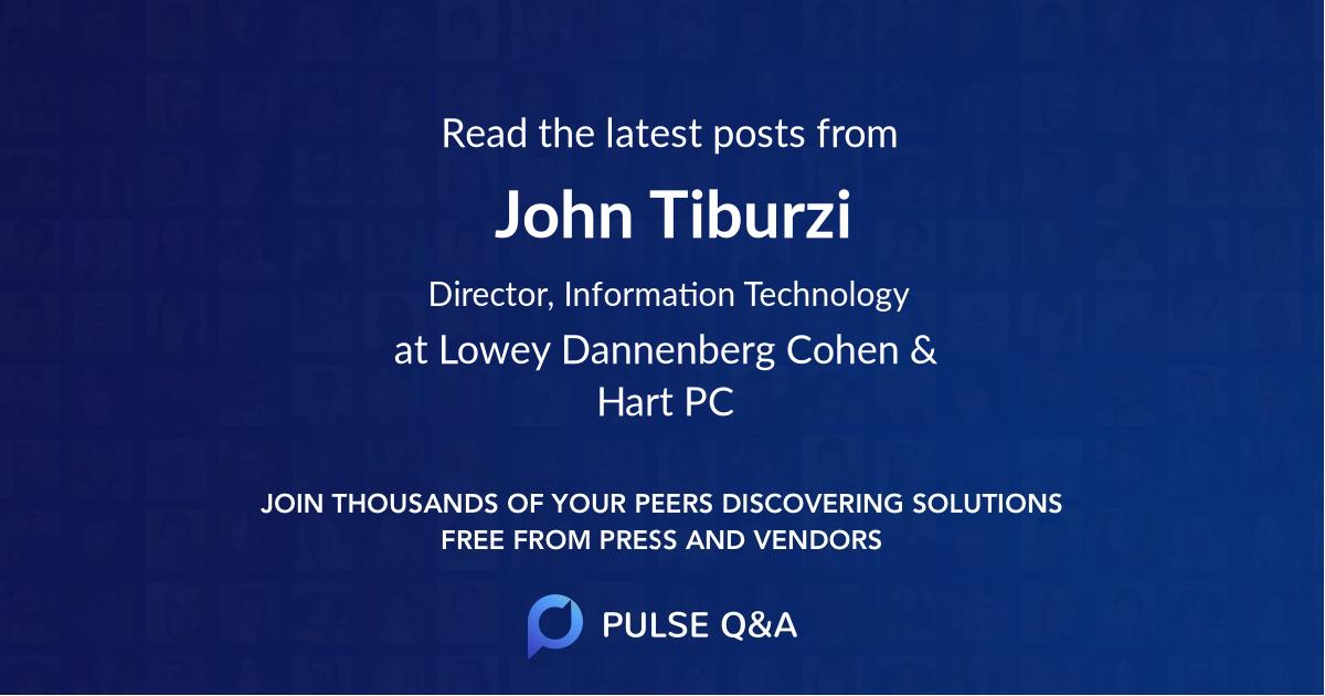 John Tiburzi