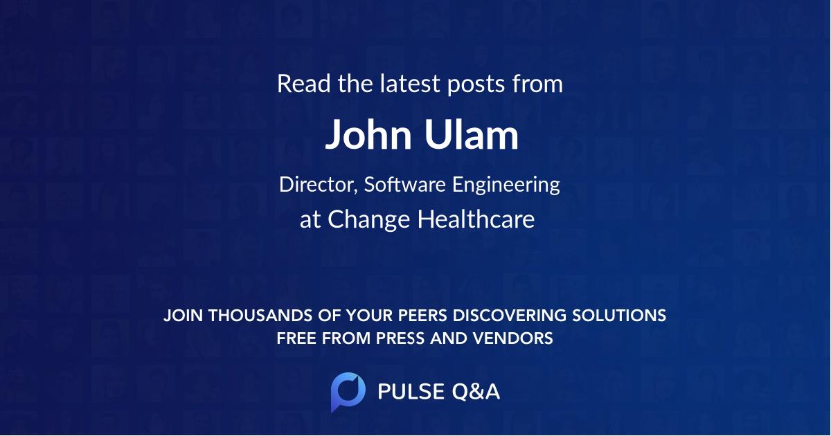 John Ulam